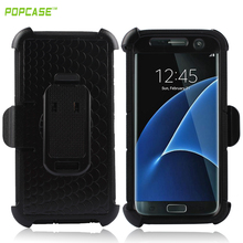 PC+Silicone Commander Combo mobile case for Samsung S7