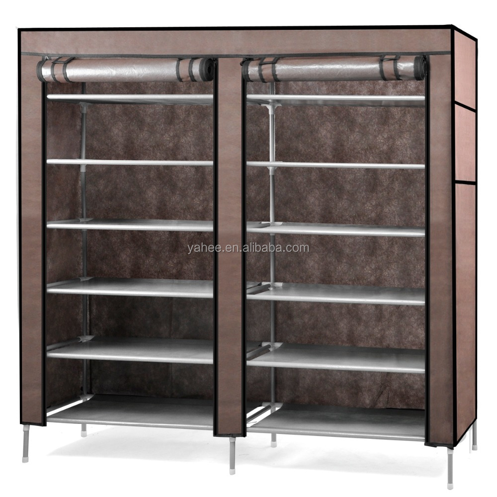 6-Tier 2 Rows Shoe Organiser Shoes Cabinet