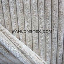 100% polyester corduroy upholstery fabric for sofa pillow