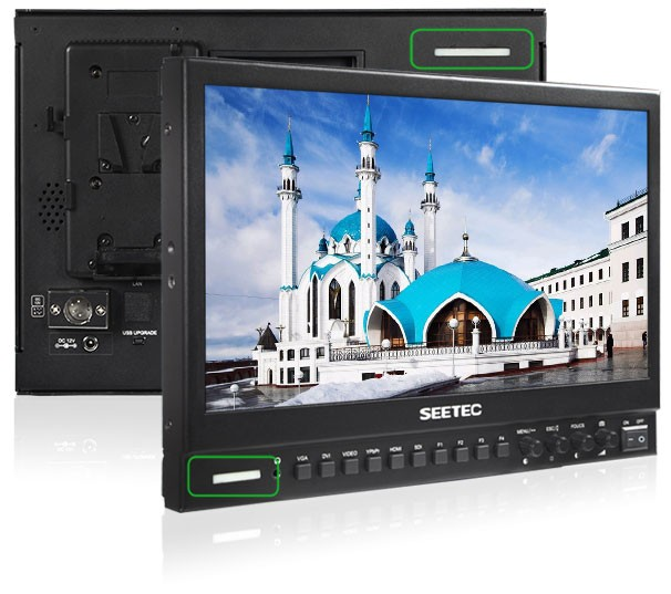 Broadcaster partner rental monitor led 15 inch with SDI loop through