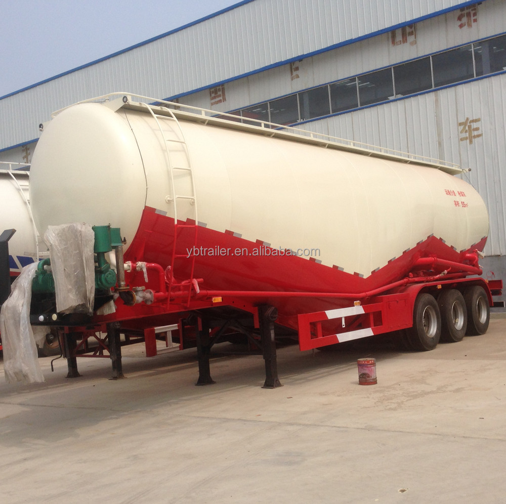 2017 Hot sale 40cbm Bulk Cement Transport Tank Truck Trailer