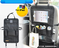 6 colors in stock camouflage car seat back backseat storage bag organizer with tablet holder for ipad