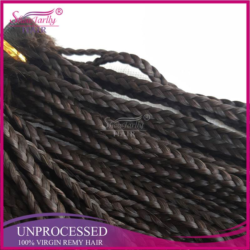 Micro Braid Hair Weft China Manufacturer Grade 8a hand Tied Human Hair Weft, African Hair Braiding