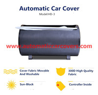 UV Protection Car Half Cover with aluminum foil quality