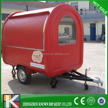 2015 New High Quality food cart stall mobile restaurant mobile hotdog cart
