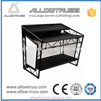 Factory price smart led curtain dj booth truss for DJ booth