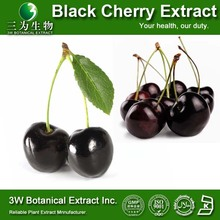 High Quality 100% Natural Black Cherry Extract Powder Food Grade China Supplier