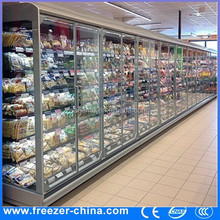 glass door thermo electronic fridge