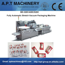 BD-320C/420C/520C Ready-to-eat Fresh Salad Packing in Traysealing with Rigid Tray and Modified Atmosphere
