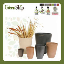 Decorative Garden Clay Pots / 20 years lifetime/UV protective/lightweight/ waterproof