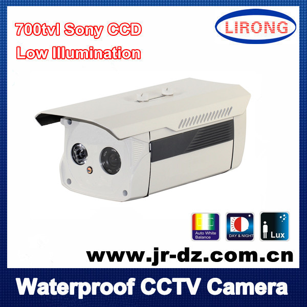 Security Surveillance metal Camera CCD IR 1LED 700tvl 960H outdoor night vision NTSC/PAL