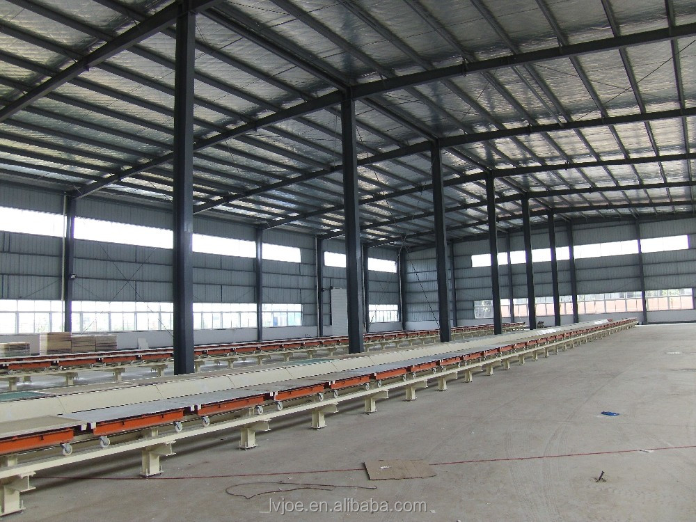 Ecological decoration gypsum board production equipment
