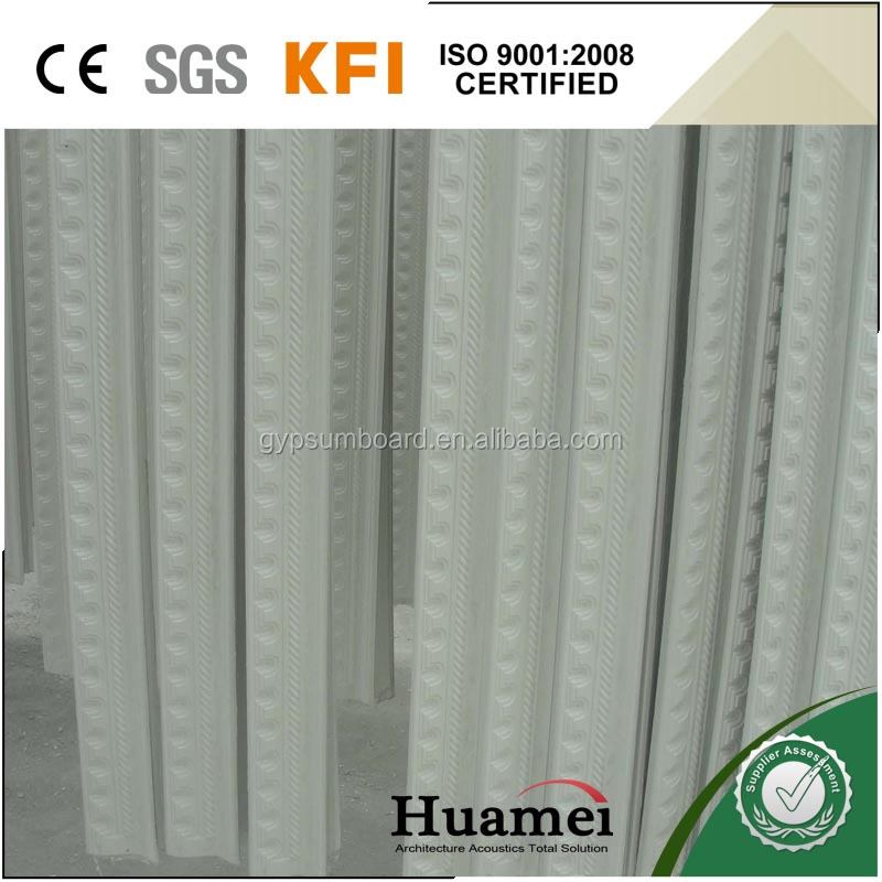 L023B plaster moulding cornice for gypsum ceiling decoration
