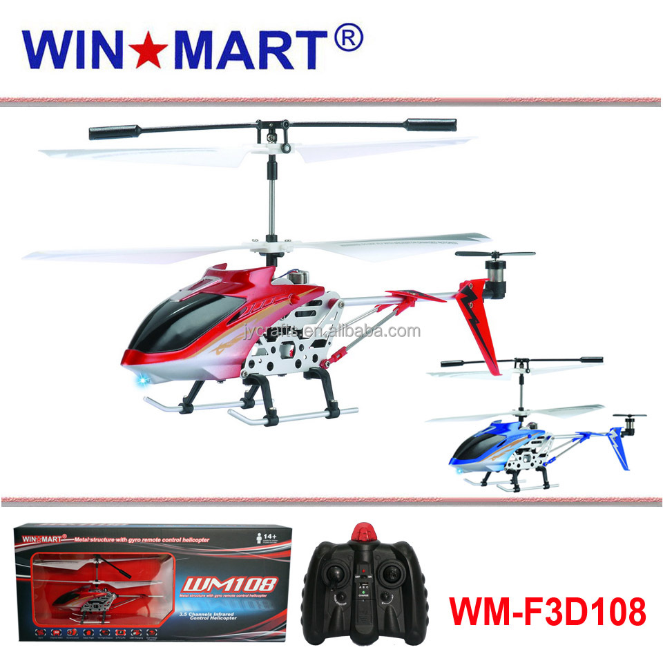3ch mini rc helicopter with gyro the cheapest for Christmas