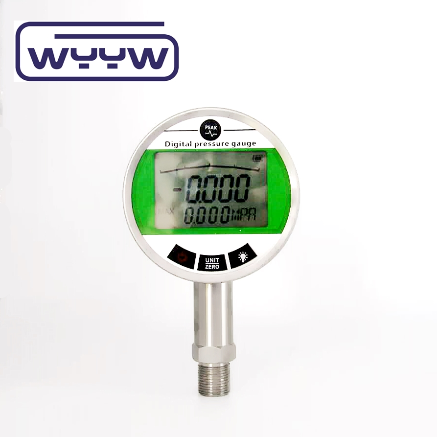 digital vacuum manometer -10 psi for gas air water pressure