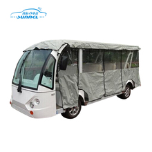 Economic Full Set Waterproof Caravan Cover , Tour Bus Cover