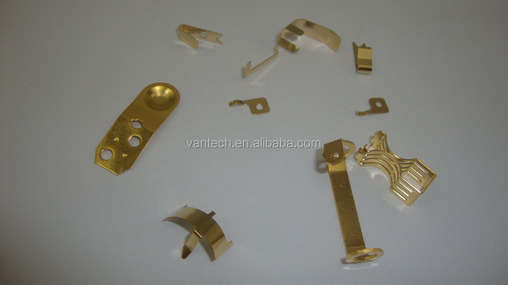 OEM stamping battery contact terminal/battery spring connector/battery spring clips