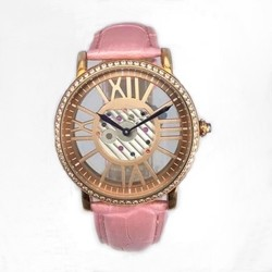 Vogue Lady Watches For Lady,Lady Stainless Steel Buckle Watch Fashion Accessories