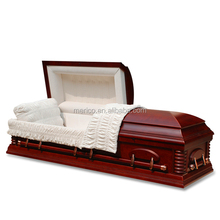 Male ESTHER CHERRY cremation coffin adult wooden urns made of mdf casket