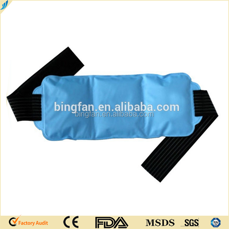 Free samples gel beads hot cold therapy hot cold pack/Crystal ball hot and cold pack belt
