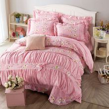 New Hot-sale china factory direct sale hand embroidery baby cot sheet designs colorful