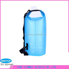 pvc material outdoor hiking waterproof feel free dry bags