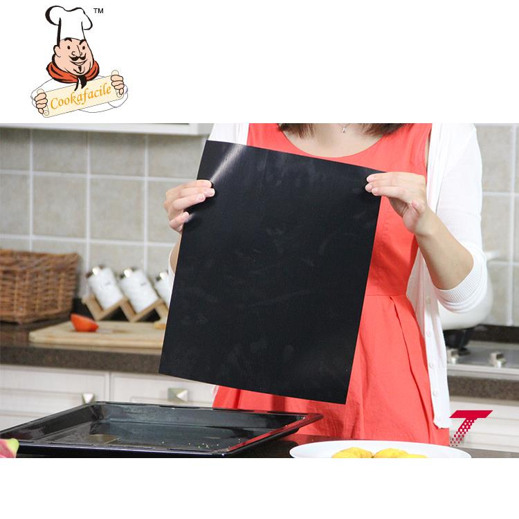 Recommend Product ODM Available non-stick teflon bbq sheets/cooking mat