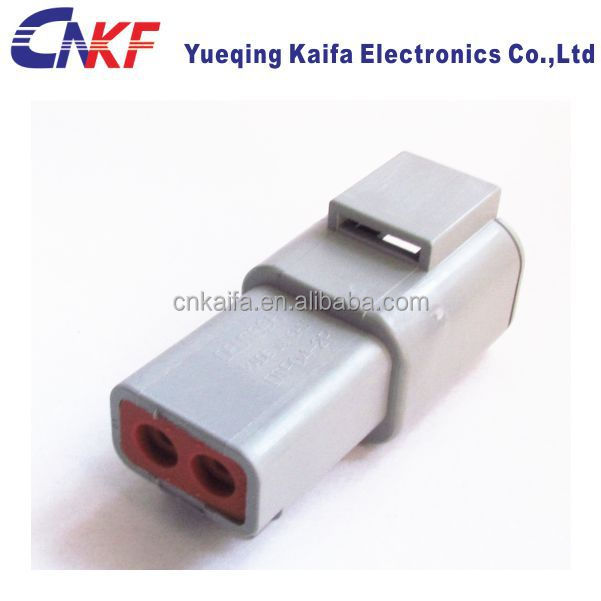 Deutsch plug DTP type DTP04-2P female 2 Pin automotive Waterproof Electrical Connector