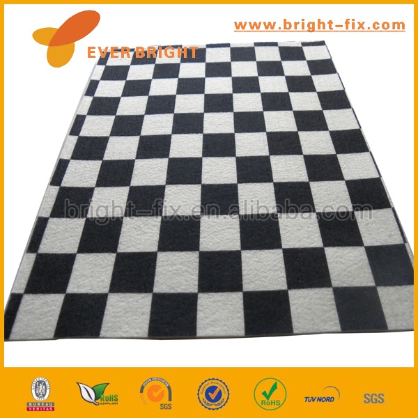 2014 Best Selling Top Grade Zebra Pattern Printing Nonwoven Polyester Felt for DIY Craft