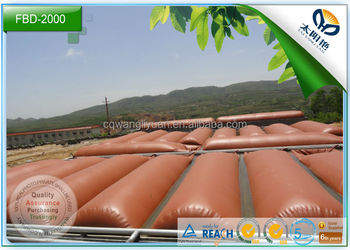 biogas plant of large farm and industry