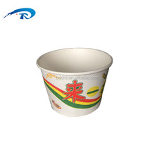 custom double wall disposable take away printed paper soup noodle bowl for food