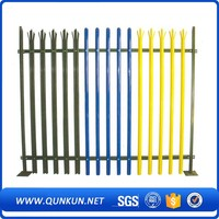 PVC Coated Steel Palisade Fencing Top Selling Euro Welded Mesh Garden Fence Panel