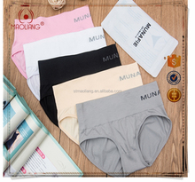 Munafie Seamless Briefs Women Munafie Original Sports Panty Underwear Lady Sexy Nylon Panties High Resilience