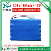 hot sale 1400mah rechargeable battery 12v docking arrangement ni-cd batteries Ni cd AA medium discharge rate pocket battery