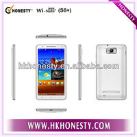 Smartphone with dual sim cards S9300 mtk6577 dual core android 4.1 OS with 512 RAM and 4G ROM