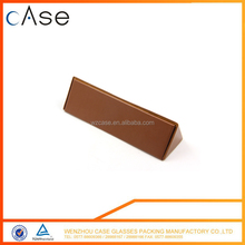 The colorful slim folding hard glasses case/funny box