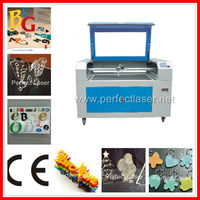 CE 80W 100W Leather / Acrylic / Plastic / Wood / Cloths / Garment CO2 laser cut christmas decorations