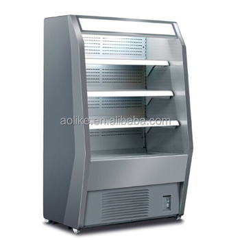 Supermarket Vertical Air Front Open Beverage Refrigerator