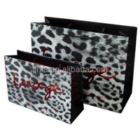 foldable offset print Luxury Paper Shopping Bag,promotional paper bag