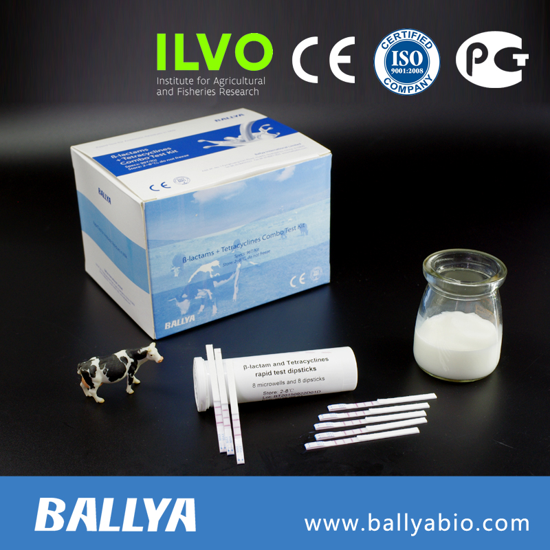Antibiotic test kit milk/ Beta-Lactam and Tetracyclines Test