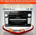 HIFIMAX Android 4.4.4 car radio audio car stereo for opel astra car dvd player with bulit-in wifi mirror link (black color)