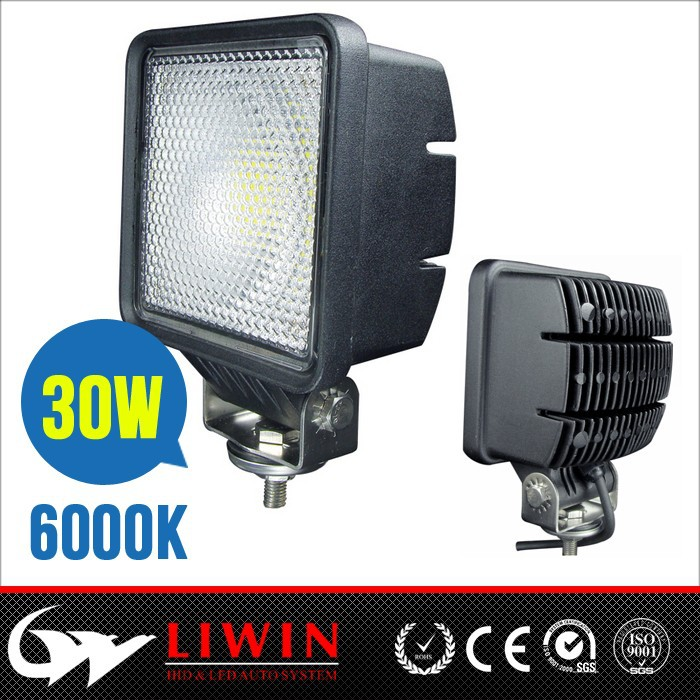 New arrival 30w liwin led work light heavy duty hid work light for UTV Offroad Jeep Truck SUV 4WD Car