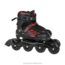 Youpai professional flying eagle skates rubber wheel inline speed skates