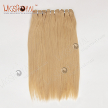 Premium Quality Ash Blonde Silky Straight Virgin Malaysian Hair Weaving