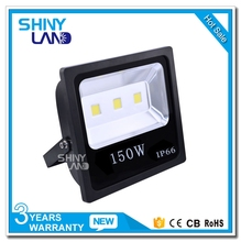 150W Outdoor Square LED Flood Light Fixtures