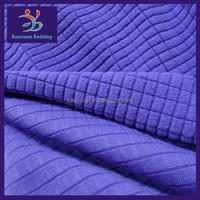 Polyester drop-needle polar fleece fabric