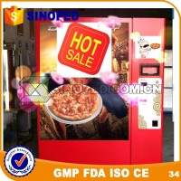 High Quality Automatic Sandwich and Pizza Vending Machine For Sale