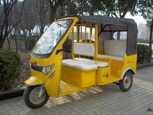 Battery powered operated auto rickshaw for passenger