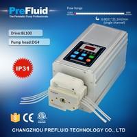 Prefluid BL100 Flow Rate Display Pump, dosing pump setup