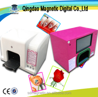 Portable real nail printer and fake nail printer/artificial nail printer